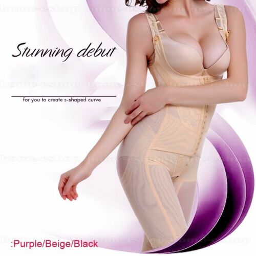 Women Shapewear Control Waist Shaper Full Length Tummy Slim Fit Corset Bodysuit