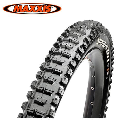 MAXXIS Minion DHR II Folding Tire 26//27.5x2.3 Dual Compound TR EXO x1