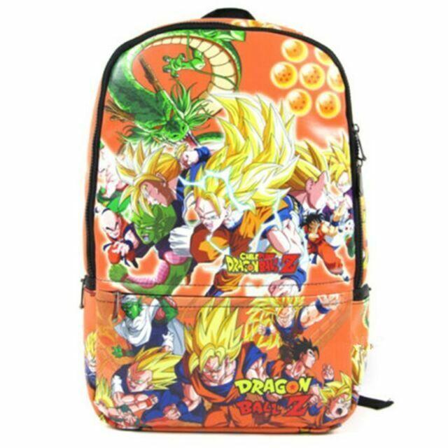 Dragon Ball Dragonball Z Cosplay Super Son Goku Vegeta Backpack School Bag