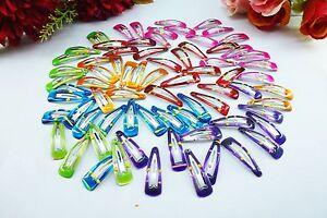 50PCS-adorable-Princesse-Fille-Bebe-Clips-Cheveux-Accessoires-Outil-Random-color-LXG