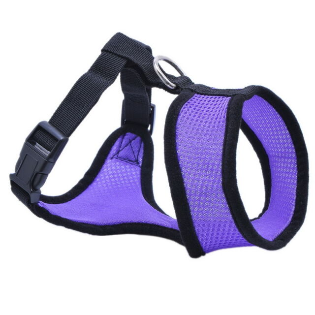 1PC Soft Mesh padded Dog Harness Pet Puppy Vest Adjustable Safety