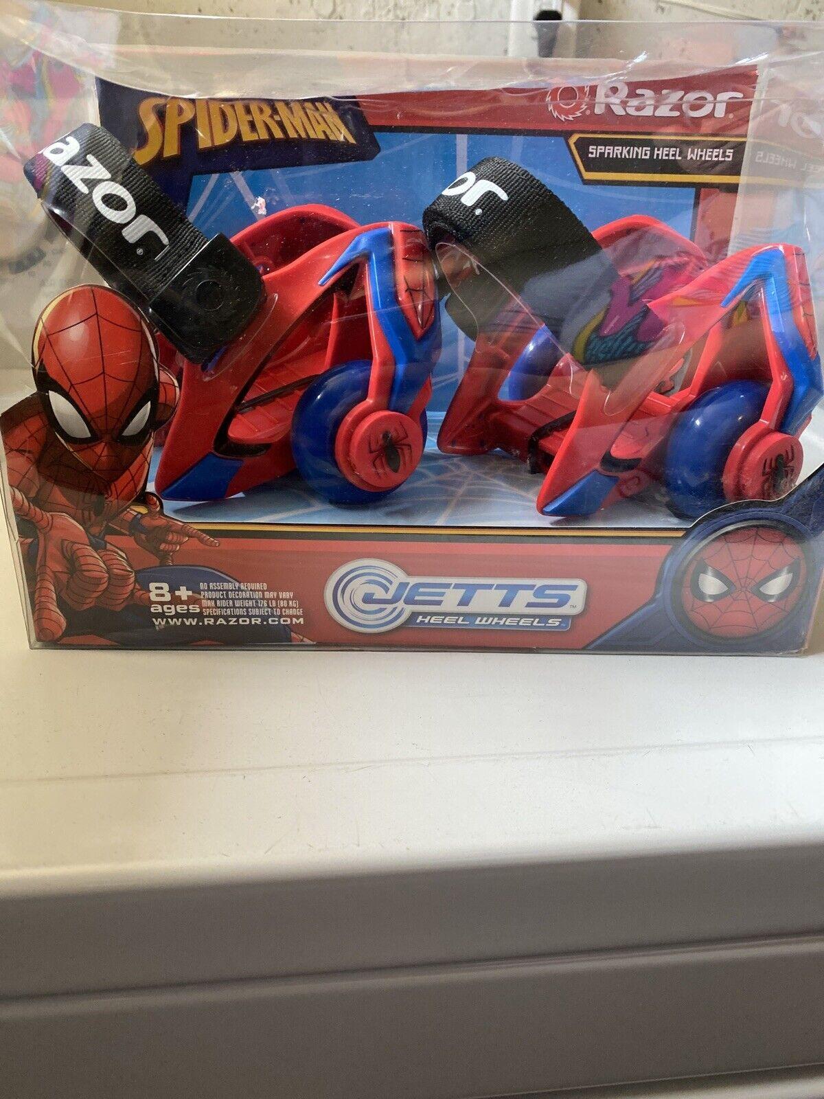 Razor Jetts Spider-Man Sparking Heel Wheels,