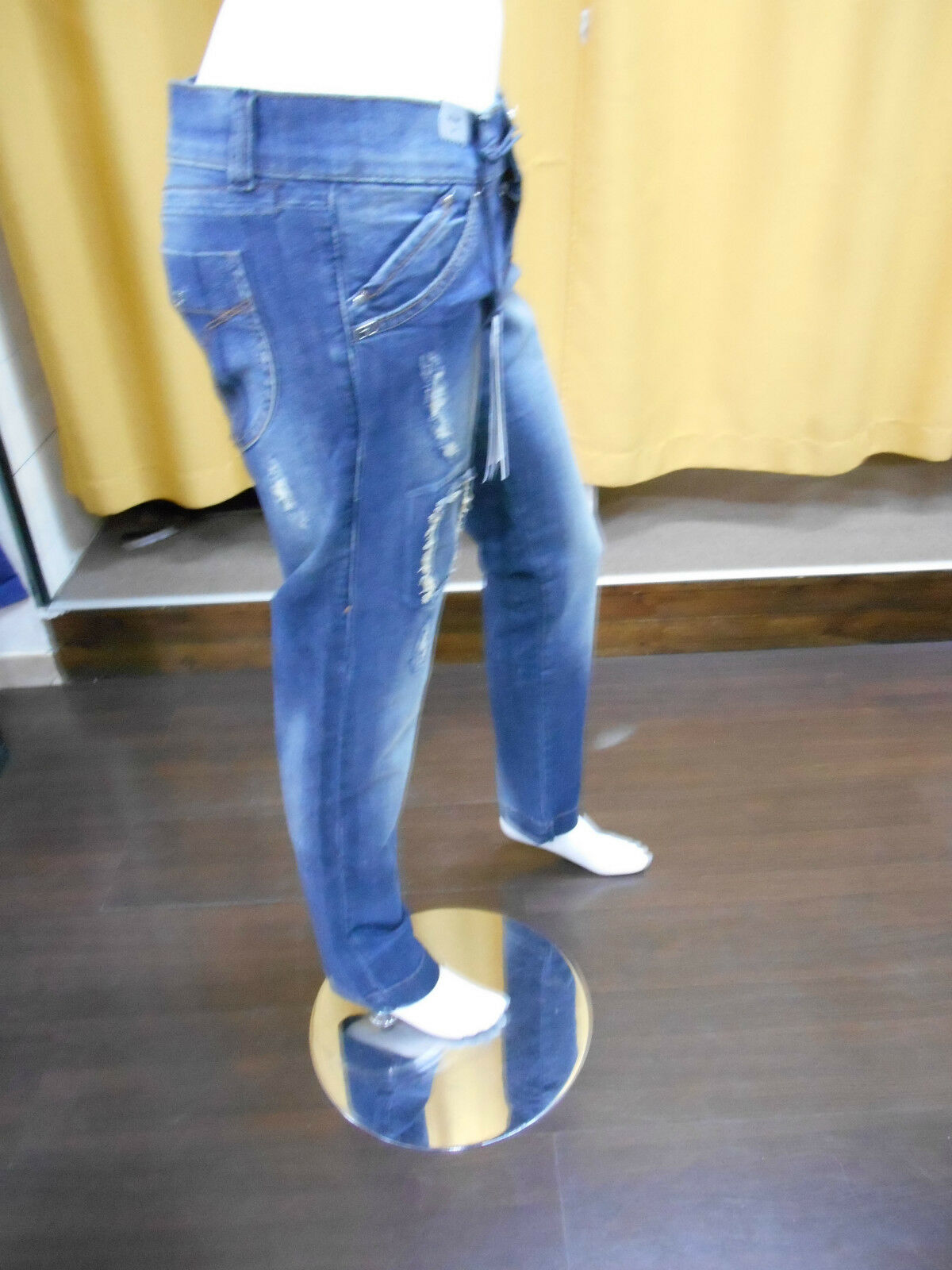 JEANS DONNA MISS MISS MISS SIXTY ART.D79849 COCO ROLAN TROUSERS 34 SLIM STRAPPI GAMBA SLIM c429a3