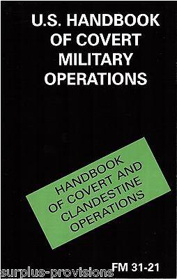 Handbook of Covert Operations - Field Manual