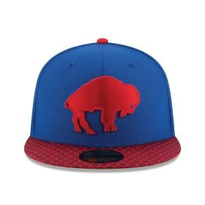 5ba35119474 New Era Buffalo Bills 59Fifty Fitted Hat Sideline Alternate Cap NFL ...