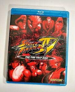 Street Fighter Iv The Ties That Bind Hd Animated Movie Blu Ray