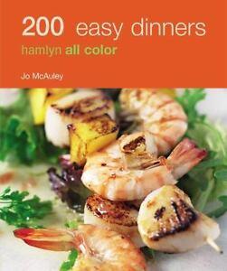 200-EASY-DINNERS-Hamlyn-Full-Color-Photos-Paperback-Cookbook-Recipe-Book