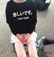Je suis triste chandail pull femme Fun Hipster Tumblr Slogan kawaii japonais