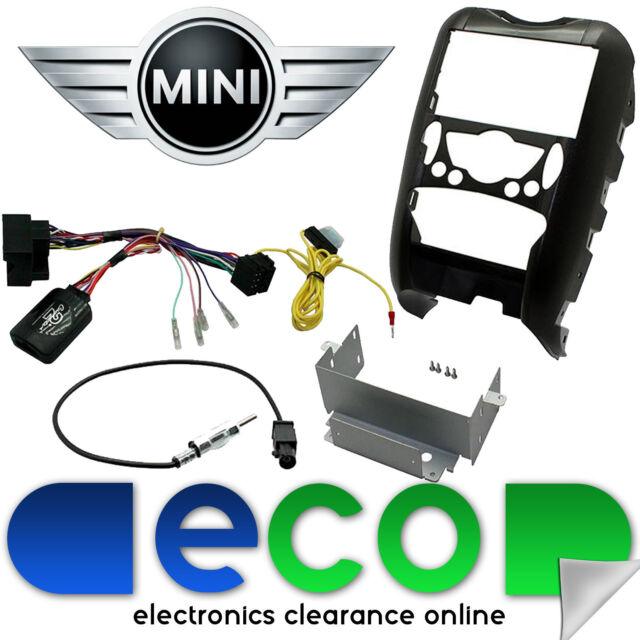 BMW Mini R56 Car Stereo Double Din Fascia & Steering Wheel Stalk Interface Lead