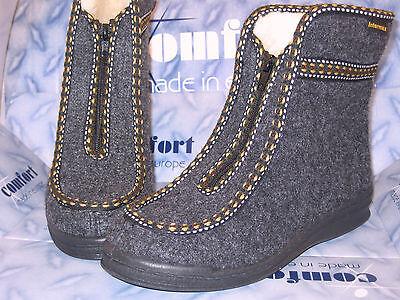 New Fashion Intermax Zapatilla Botas De Casa Zapatillas Botas De Cabaña Fieltro Lana Botas Zapatillas De Andar Por Casa Ropa, Calzado Y Complementos