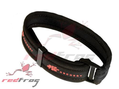 PSE Archery Black Neoprene Bow Wrist Sling Adjustable Soft Recurve Compound