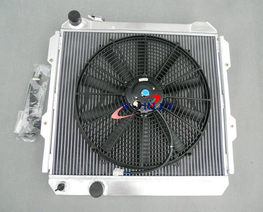 3 ROW TOYOTA HILUX LN85 LN60 LN61 LN65 2.4L DIESEL 84-91 ALUMINUM RADIATOR /& FAN