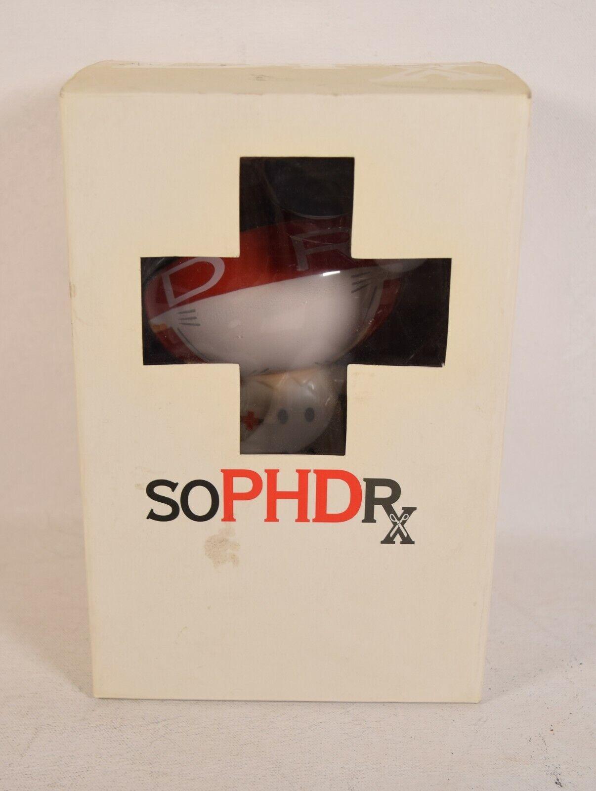 Dr. Romanelli soPHDRx Sophnet Vinyl Figure Doctor X Span Of Sunset 6