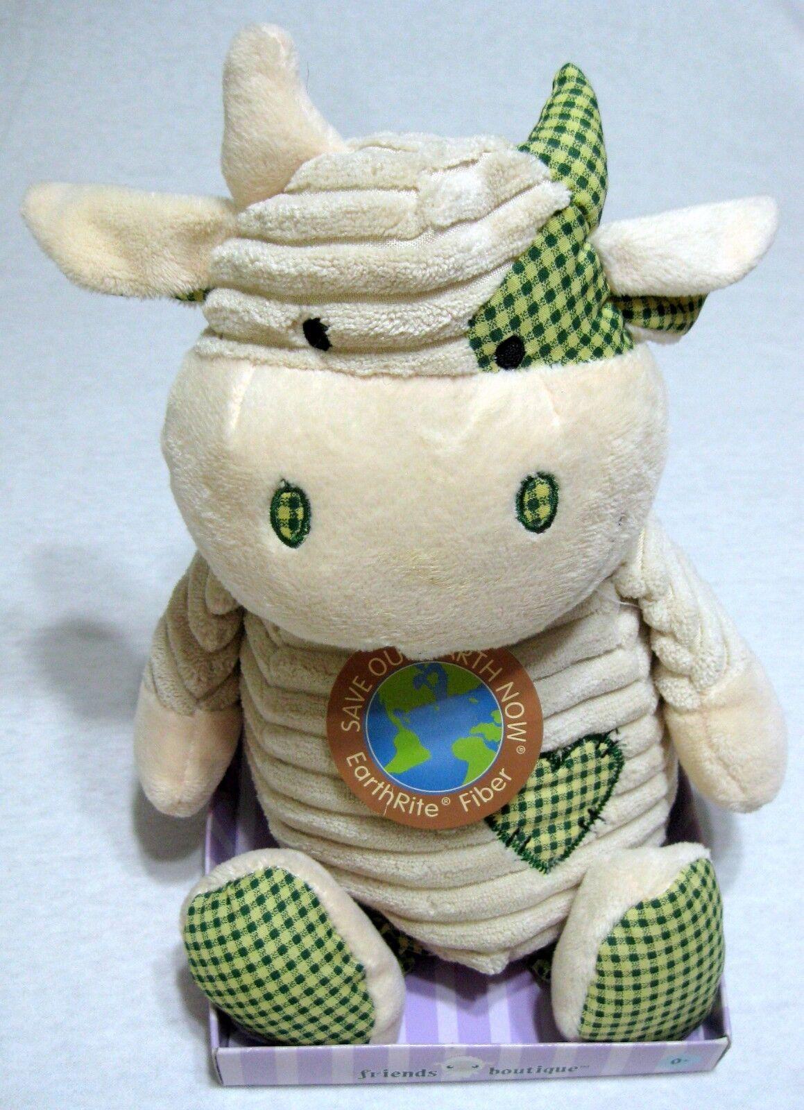 Friends Boutique Cow Plush Stuffed Animal