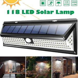 Spot solaire pour extérieur LED détecteur mouvement pour jardin neuf pas cher x
