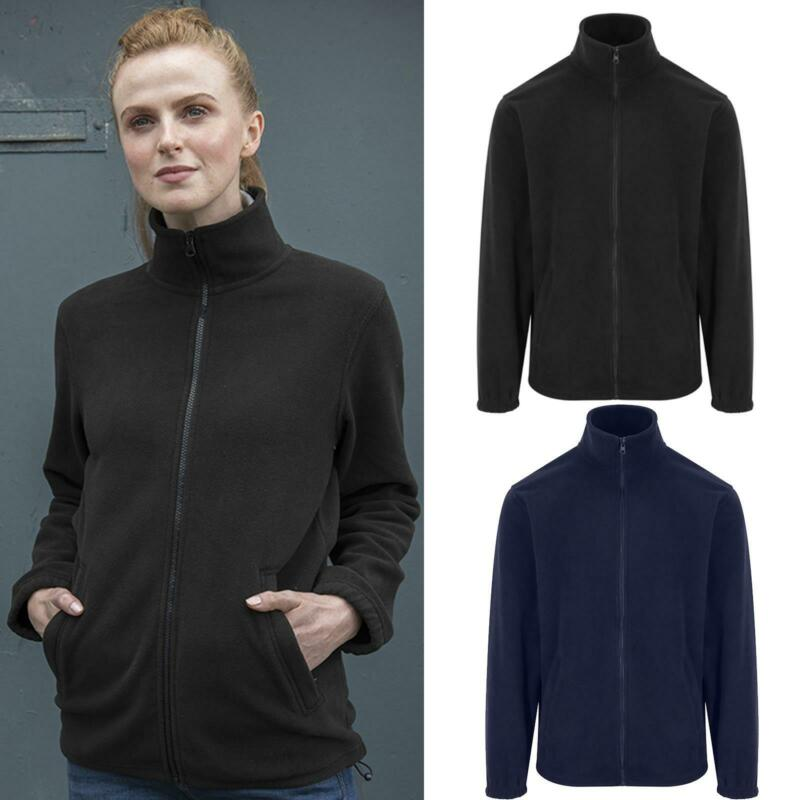 Pro Rtx Men's Full Zip Giacca In Pile Winterwarm (rx402) - Semplice Casual Workwear