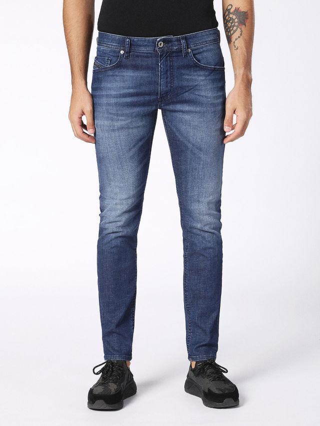 Diesel Thommer Jeans, Wash 084MW, Mid bluee Wash, Slim Skinny Fit, Stretch Denim