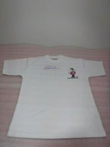 Signed Eric Bristow MBE T Shirt , Darts The  Crafty Cockney