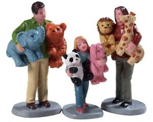 Lemax-Village-Carnival-Collection-PRIZE-WINNERS-Set-of-Three-Figurines-92776-Se