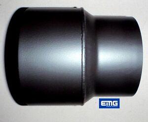 reduzierung rauchrohr kaminrohr ofenrohr 150 120 mm ebay. Black Bedroom Furniture Sets. Home Design Ideas