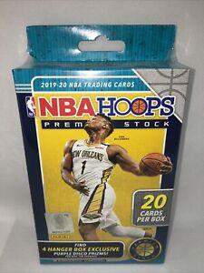 🔥🏀🔥2019-20 Panini NBA Hoops Premium Stock Hanger Box Basketball Zion Ja?