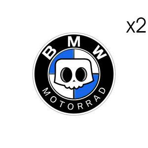 2-Stickers-plastifies-SKULL-BMW-Motorrad-S1000RR-HP4-Adventure-5-5cmx-5-5cm