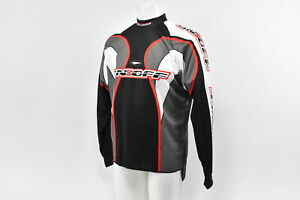 On-amp-Off-Racing-Men-039-s-L-S-BMX-Jersey-Black-Red-XL-New-With-Tags