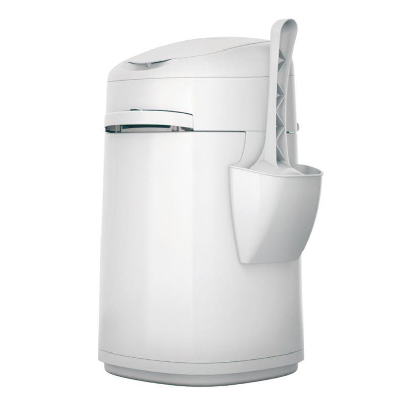 Smaltimento Litter lettiera e toilette elimina odori per gatti in 2 modelli