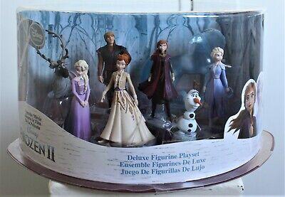 Disney Frozen II Deluxe Figure Collectible Figurine Set Ensemble Play Set