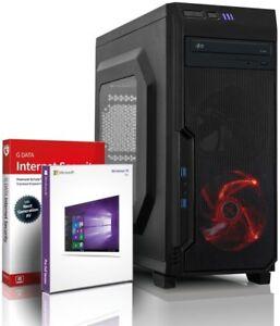 Ultra i7 DX12 Gaming-PC Computer i7 930 - RX 460 - Win10 - 8GB - 256GB SSD + 1TB