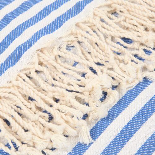 Striped Premium Beach Towel Blue 100/% Cotton Soft Quick Dry Turkish Bath Towel
