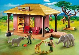 Ranger Centre Sauvage La De African Soins New Safari 5907 Playmobil Vie Oambati Station znUOU