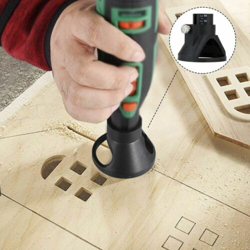 Electric Grinder Locator Bell Mouth Drill Grindering Polishing Retainer Holder