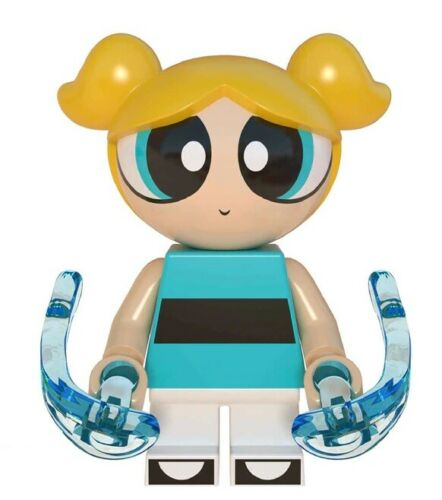 Bubbles Blossom Buttercup Cartoons Heroes Building Blocks Toys For Children New