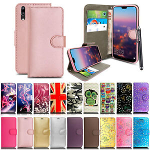 Case Cover For Huawei P Smart/P20 Lite/P20 Pro/Y6 2018 Flip Wallet Leather Stand