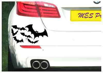 Bat Swarm funny car van, bumper, windows, lorry JDM vinyl decal sticker