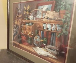 barbara mock painting home interior gifts outdooorsmen s desk 27 x