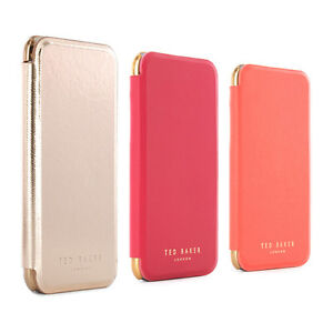 OFFICIAL Ted Baker SHANNON Womens Mirror Folio Case Fits iPhone 7 ... ce83d11b34
