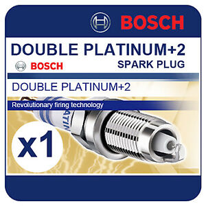 RENAULT-Laguna-II-3-0-V6-24V-01-07-BOSCH-Double-Platinum-Spark-Plug-FR8SPP332