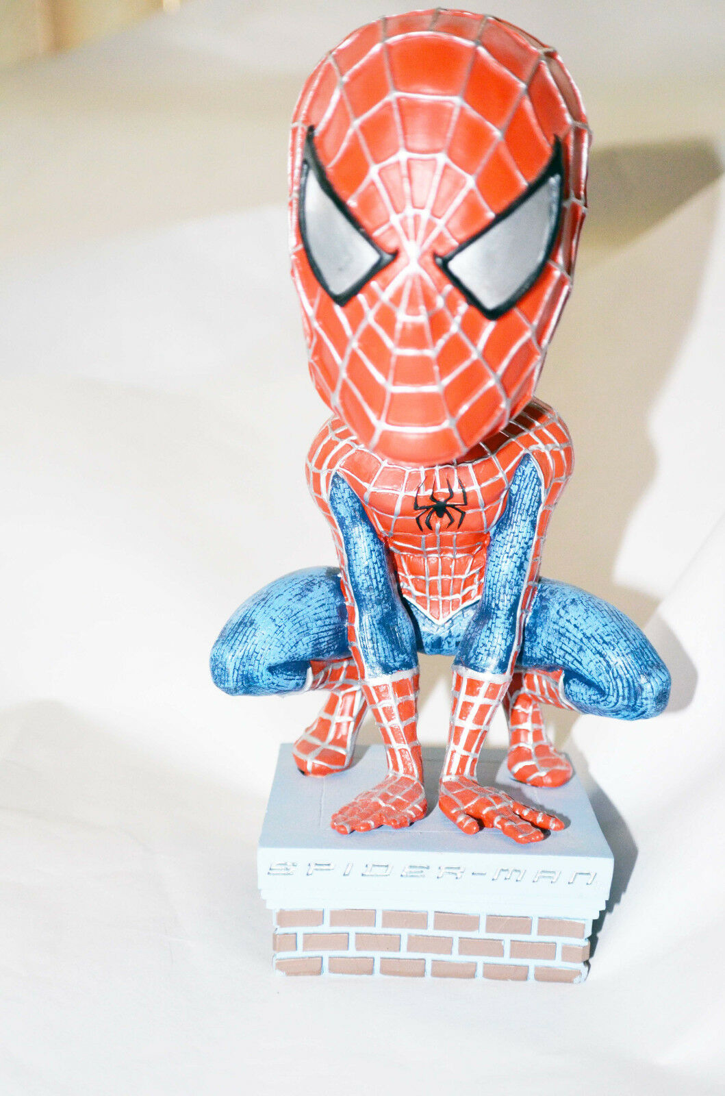 Spider Man with spring head Collection