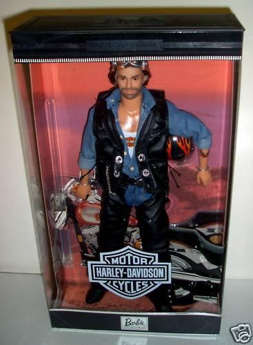 Nunca quitado de la Caja Mattel Toys R Us Harley Davidson Ken Muñeca Barbie ()