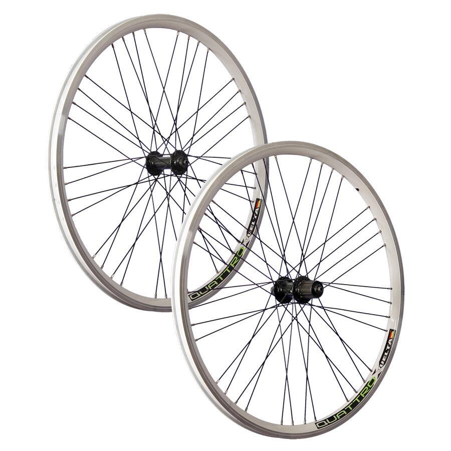 Juego de ruedas Bicicleta de 26 pulgadas VUELTA Airtec 1 Shimano Deore HB FH-T610 blancoo