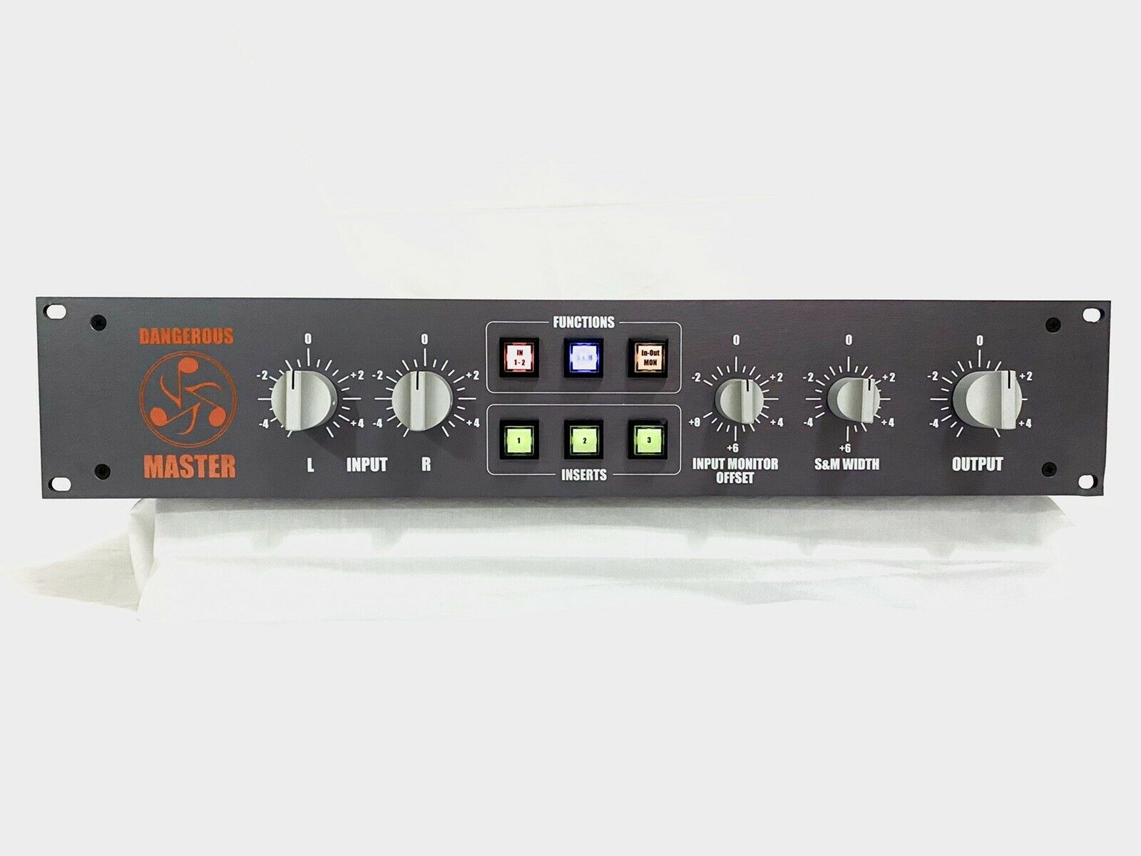 Dangerous Music Master Mastering Transfer Console. Available Now for 3600.00
