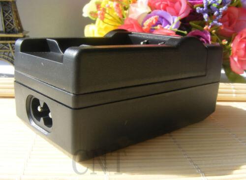 Cargador para Panasonic DMC-TZ1 TZ2 TZ3 TZ4 TZ5 TZ11 TZ15 TZ50 CGA-S007A Batería