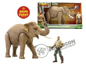 Jumanji-COLOSSAL-ELEPHANT-Lanard-Animal-Action-Figure-NEW-NIB-WILD-Planet-2019