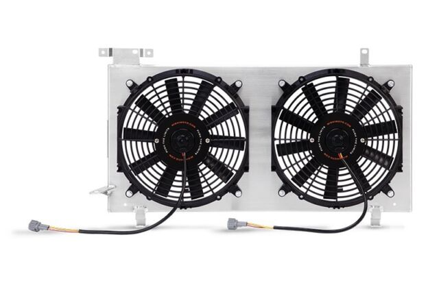 """Black 10/"""" High Performance Electric Cooling Pull Slim Radiator Fan For CHEVROLET"""