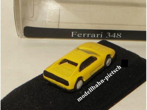 OVP Spur N IMU 12031 ge  Ferrari 348 Metallmodel neu gelb 1:160