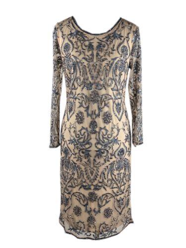 36 38 40 42 44 NP:449€ Luxus Abendkleid Frank Lyman189102 Perlen Pailletten Gr.