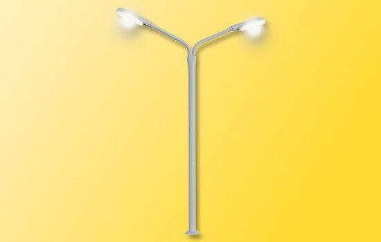 Viessmann TT 6995 Peitschenleuchte doppelt, 2 LEDs weiß Neuware