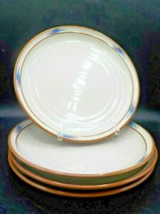 Noritake-Raindance-Stoneware-Dinner-Plates-8675-10-25-Inches-Set-of-4-Santa-Fe